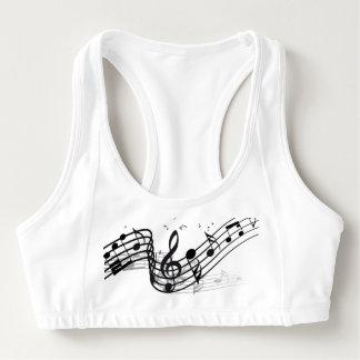 Music Sports Bra