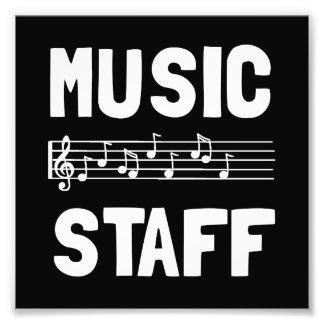 Music Staff Art Photo