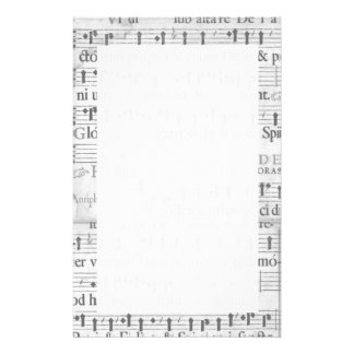 Music Stationary Stationery