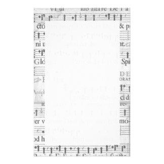 Music Stationary Stationery Design