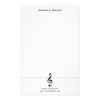 Music Stationery
