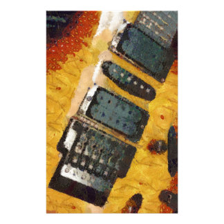 Music Strummed Stationery