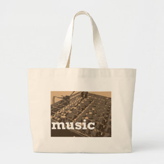 Music Studio Mixer Jumbo Tote Bag
