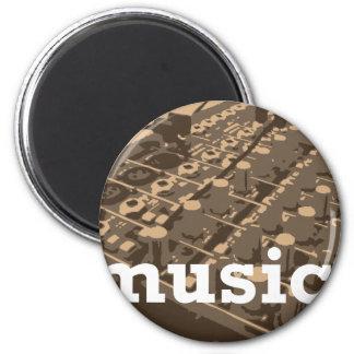 Music Studio Mixer Magnet