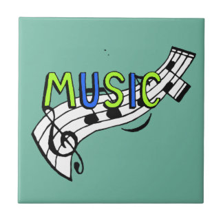 music style tile