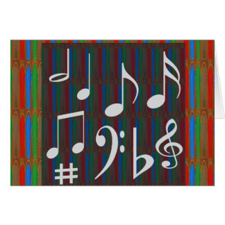 Music Symbols Band Musician Mastreo Singers Songs Card