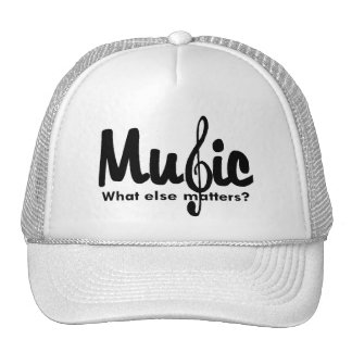 Music T-shirts and Gifts. Mesh Hat