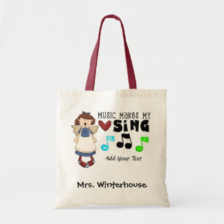 Music - Teacher - Chorus - Personal - Value Tote