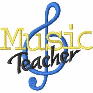 Music Teacher Embroidered Hoody