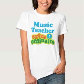 Music Teacher Extraordinaire Gift Idea Tee Shirts