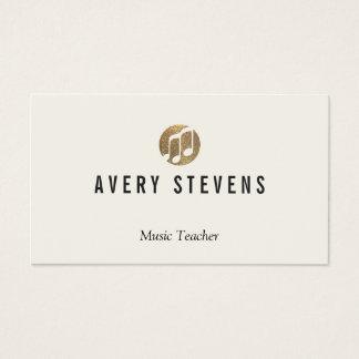 Music Teacher, Music Notes, Musician Business Card