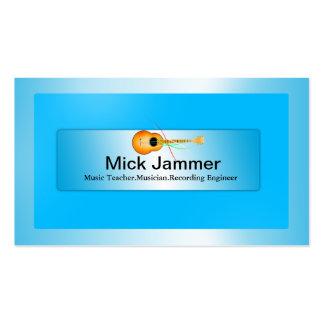 Music Teacher/Producer/Artiste Business Card