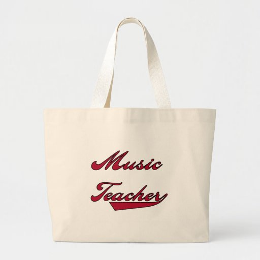 Music Teacher Red Tshirts and Gifts Bag