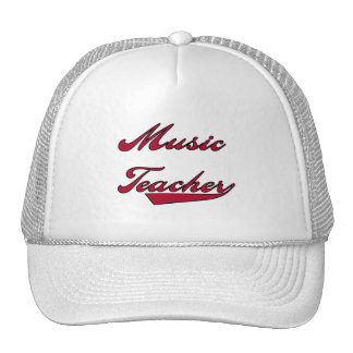 Music Teacher Red Tshirts and Gifts Hat