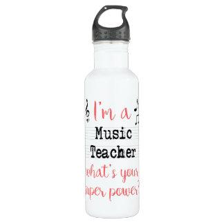 Music Teacher Super Power Bottle
