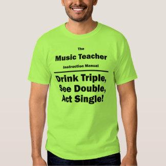 music teacher t-shirts