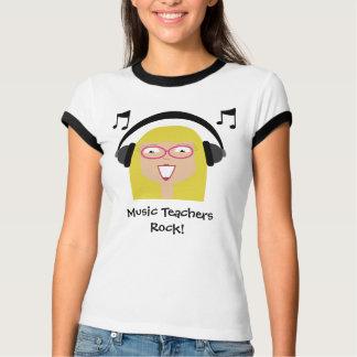 Music Teachers Rock! T-Shirt