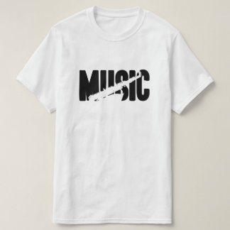 MUSIC (TENOR SAX) T SHIRTS