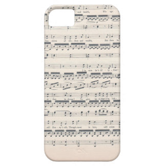 Music text lover iPhone 5 cover