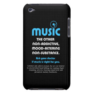 Music: The other non-addictive, mood-altering… Barely There iPod Cases