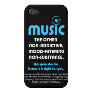 Music: The other non-addictive, mood-altering… Cases For iPhone 4