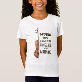 Music The Universal Language   Jersey Shirt