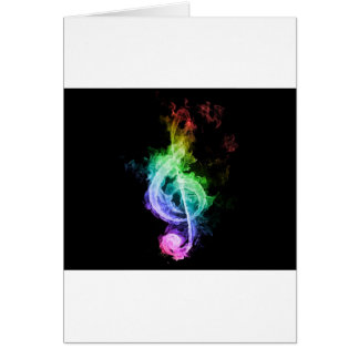 music theme card