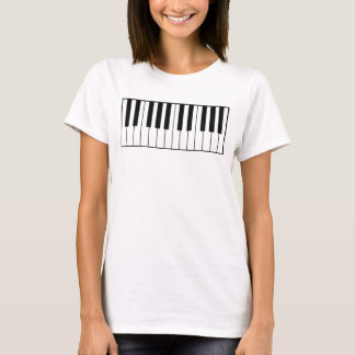 music-themed piano keys T-Shirt