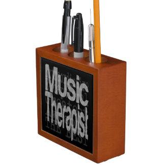 Music Therapist Extraordinaire Desk Organiser