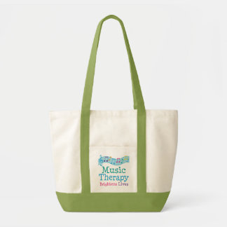 Music Therapy Brightens Lives Gift For Therapist Tote Bag