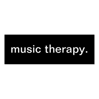 Music Therapy Business Card