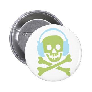 Music Till Death 6 Cm Round Badge