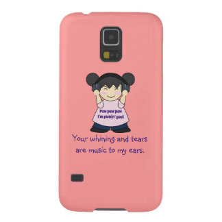 Music To My Ears Snarky Online Gamer Case For Galaxy S5