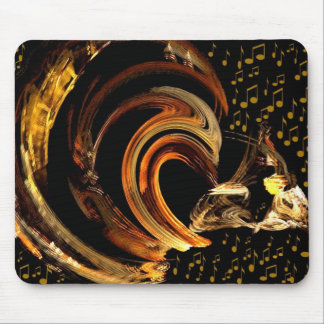 Music to my soul_Mousepad_by Elenne Boothe Mouse Pads