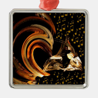 Music To My Soul_ Christmas Ornament