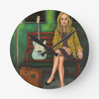 Music Traveler 2 Wall Clock