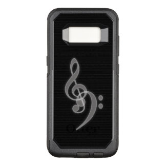 Music - Treble Bass Clef Phone Case