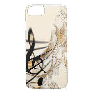 Music - treble clef iPhone 7 case
