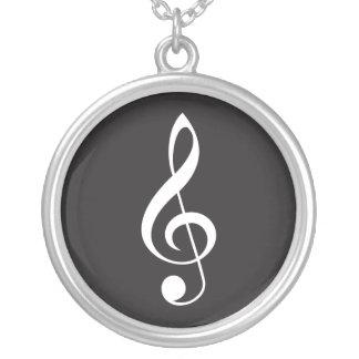 Music Treble Clef Pendant Jewelry Gift