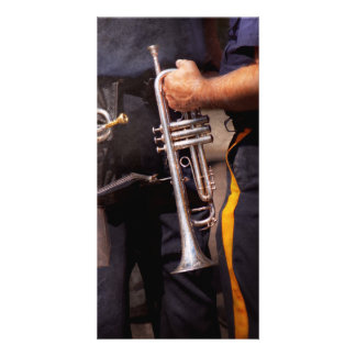 Music - Trumpet - Police marching band Photo Greeting Card