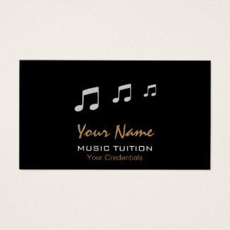 Music Tutor Business Cards