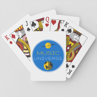 """""""Music Universe"""" Playing Cards"""