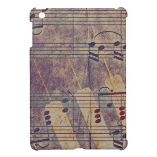 Music, vintage look B iPad Mini Cover