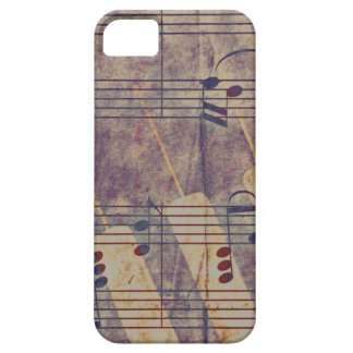 Music, vintage look B iPhone 5 Cover