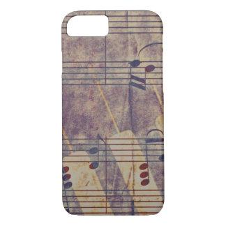 Music, vintage look B iPhone 8/7 Case