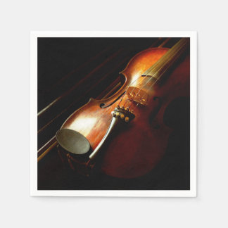 Music - Violin - The classics Disposable Napkins