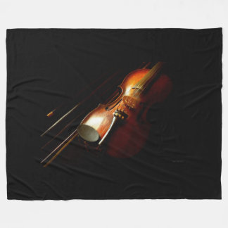 Music - Violin - The classics Fleece Blanket