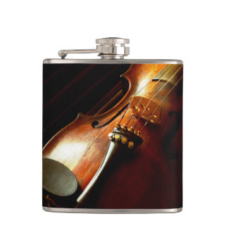 Music - Violin - The classics Hip Flask