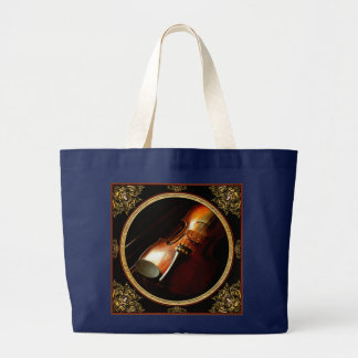 Music - Violin - The classics Large Tote Bag