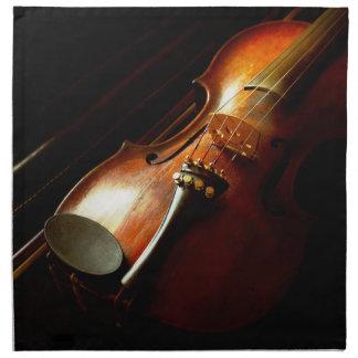 Music - Violin - The classics Napkin